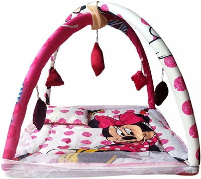 Dhuloom baby mosquito net , baby bedding set, baby bedding, new born baby gift set play gym