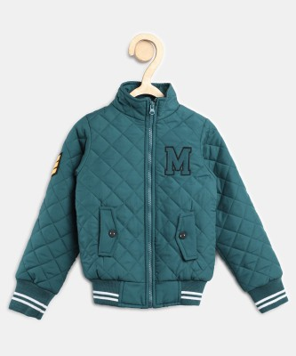 Miss & Chief Full Sleeve Solid Boys Jacket