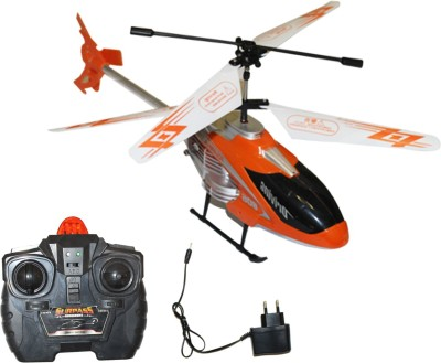 Akshat VELOCITY ORANGE REMOTE CONTROL RECHARGEABLE HELICOPTER FOR KIDS