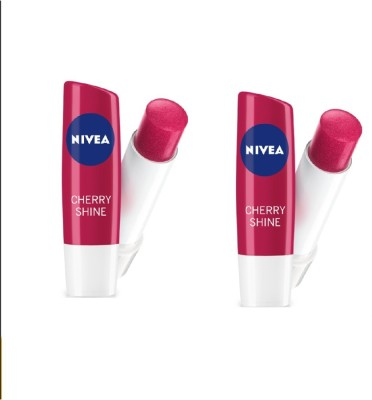 Nivea CHERRY SHINE 4.8 GM Fruity Flavor