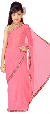 Jaipuri Fashion Embellished Fashion Net Saree