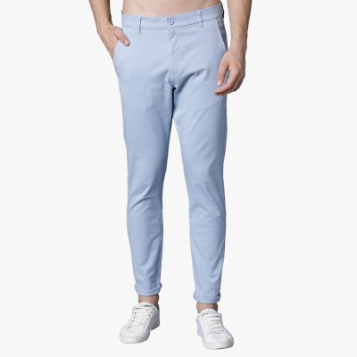 Highlander Slim Fit Men's Light Blue Trousers