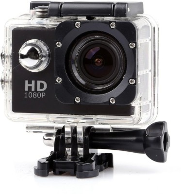 ALONZO 1080P Waterproof Sport Action Camera 2 inch LCD Screen 12 MP Full HD Sports and Action Camera