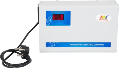 Servomate 5 KVA Automatic Voltage Stabilizer (175v-260v) Aluminium For 2 Ton AC and all other house hold appliances