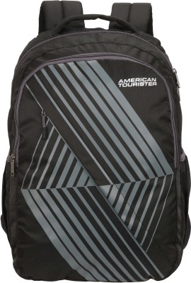 American Tourister AMT TIMBO+ SCH BAG 01 GREY 34 L Backpack