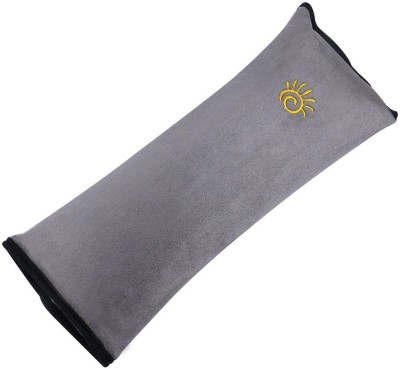 Cubern Cotton Safety Strap Soft Headrest Neck Support Pillow for Car Seatbelt Auto Shoulder Pad for Kids Children Baby Nap Neck Pad Seat Belt Cushion.(Grey) Baby Pillow