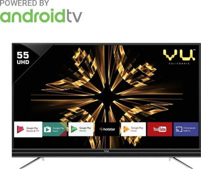 Vu 140cm (55 inch) Ultra HD (4K) LED Smart Android TV