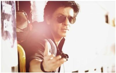 Shah Rukh Khan Poster - Shahrukh Khan posters - Shah Rukh Khan - Shah Rukh Khan wall poster Paper Print