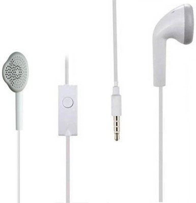 Alafi Deep Bass YS Earbud for Mobile Headsets q with Mic (In the Ear) Wired Headset with Mic
