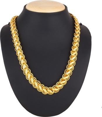 Luxor Latest Stylish Designer Chain for Mens & Boys Gold-plated Plated Alloy Chain