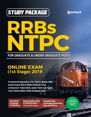RRB NTPC Guide 2019 Current A?airs, Mathematics, General Intelligence And Reasoning, General Awareness, Practice Sets (1-3)