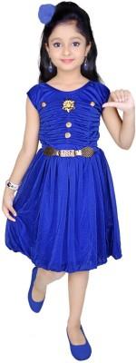 ENKINDLE Girls Midi/Knee Length Party Dress