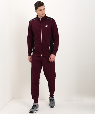 Lotto Solid Men Track Suit