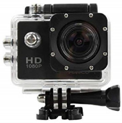 Zeom Action Shot HD 1080P Waterproof Action Camera WIFI 170 Degree Wide Angle Sports and Action Camera  (Black, 12 MP) Sports and Action Camera