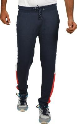 ARDEUR Printed Men Blue Track Pants