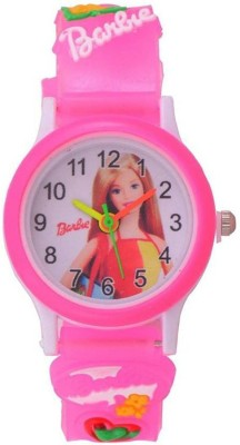 ARIKs Baby Cute Girl's Pink Belt Kids Analog Watch  - For Girls