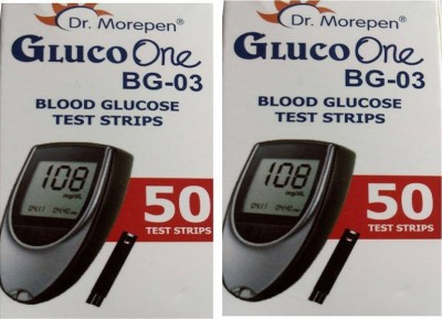 Dr. Morepen 2 Gluco one BG03 50 Health Care Appliance Combo