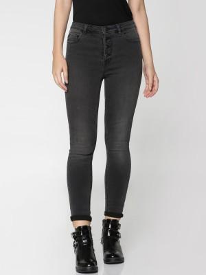 Only Regular Women's Black Jeans