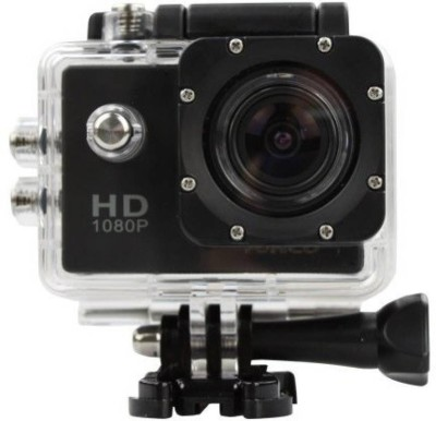 Zeom Action Shot HD 1080P Action Shot 12MP 2.0 inch LCD Touch Screen with Ultra HD Water Proof Sports and Action Camera(Black, 12 MP) Sports and Action Camera