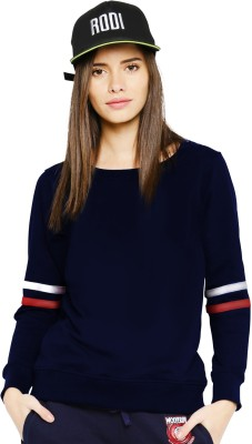 Young Trendz Full Sleeve Color Block Women Sweatshirt