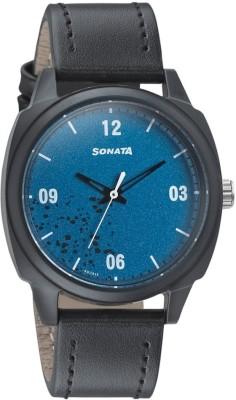 Sonata 77086PL04 Volt+ Analog Watch  - For Men