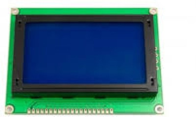 Technical hut LCD (128x64) Graphic Green Color BackLight LCD Display module Educational Electronic Hobby Kit