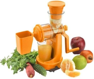 Bluwings ABS Fruit & Vegetable Plastic Mixer Orange Hand Juicer 0 W Juicer