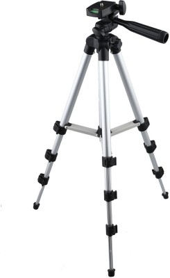 Awei 3110 Adjustable Head Aluminum Extendable tik tok stand Tripod