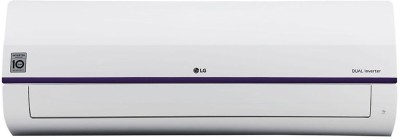 LG 1.5 Ton 3 Star Split Dual Inverter AC  - White