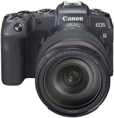 Canon EOS RP Mirrorless Camera Body with single Lens: RF 24 - 105 mm f/4L IS USM Lens (16 GB Memory Card + Carry Case)