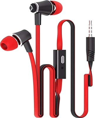 Futaba High Quality Wired Headsets - Red and Black Wired Headset with Mic