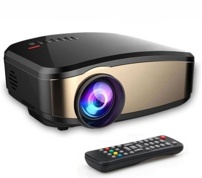 FU4 1200 lm LED Corded Portable Projector (Black) Portable Projector