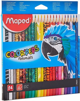 Maped Animal ROUND Shaped Color Pencils