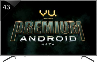 Vu Premium Android 108cm (43 inch) Ultra HD (4K) LED Smart TV