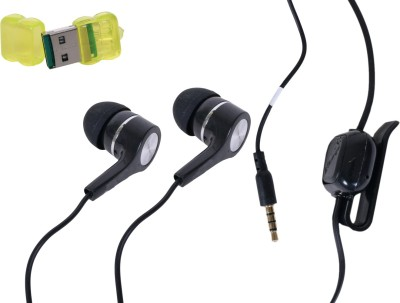 Charlie Headphone Accessory Combo for ALL MOBILE 3.5MM JACK SUPPORT, LAPTOP, ANDROID PHONE