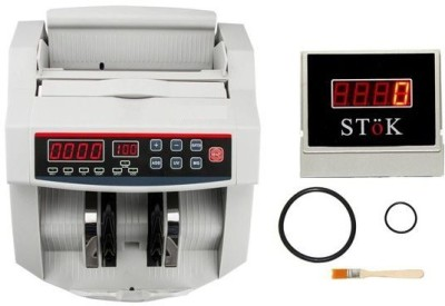 HANUTECH fake note detection machine (Led display) (Counting Speed - 1000 notes/min) Note Counting Machine