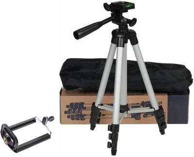 snowbudy 3110 Tripod For DSLR Camera And Mobile ,Mobile Selfie Mount Mobile Holder Tripod Stand Tripod