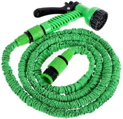ATOOZED Expandable Magic Flexible Water Hose 50 Ft / 15 M EU Hose Plastic Hoses Pipe with Spray Gun to Watering Washing Cars High Pressure Washer