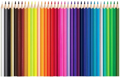 Maped 832017-Maped Color'Peps Color Pencil Set - Pack of 36 (Multicolor) triangular Shaped Color Pencils