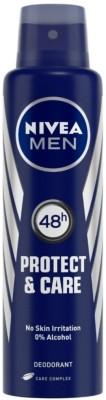 Nivea Men Protect & Care Deodorant Spray  -  For Men