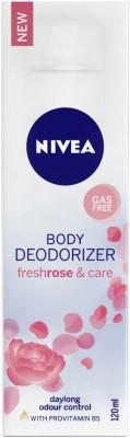 Nivea Fresh Rose & Care Female Deodorizer Deodorant Spray  -  For Women