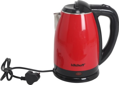Kitchoff Kitchoff-KIT18E _Red Electric Kettle