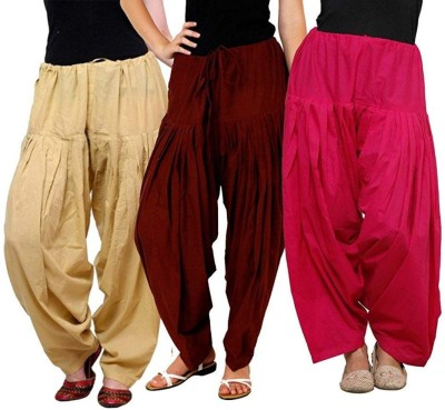 New Z Spark Cotton Blend Solid Patiala