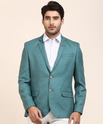 Arrow Self Design Single Breasted Formal Men Blazer