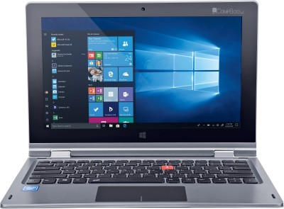 iBall CompBook Atom Quad Core - (2 GB/32 GB EMMC Storage/Windows 10 Home) I360 2 in 1 Laptop