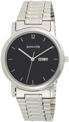 Sonata NC1013SM04 Analog Watch  - For Men