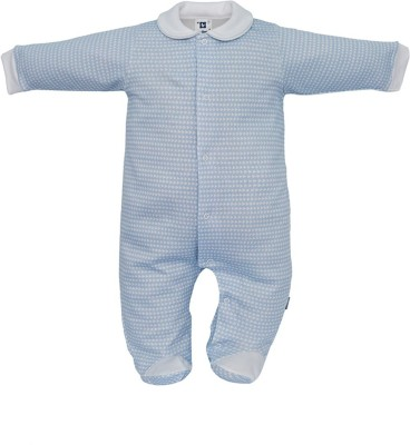 CAMBRASS Baby Boys & Baby Girls Blue Sleepsuit