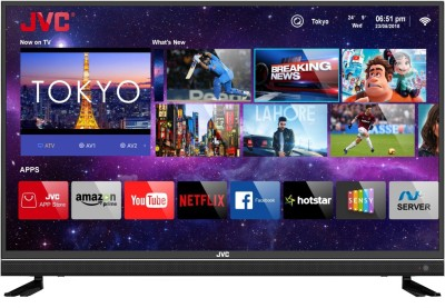 JVC 109cm (43 inch) Ultra HD (4K) LED Smart TV  with Quantum Backlit Technology