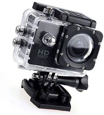 Roboster ACM 1080p 12MP Sports Point Full HD Portable Camera with SD Card Support Sports and Action Camera