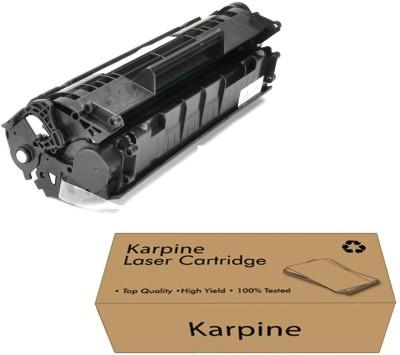 Karpine 12a Black Toner Cartridge Single Color Ink Toner